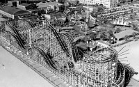 The original Cyclone Racer at the Pike.