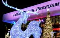 LONG BEACH'S 50-foot Christmas tree was lit Nov. 27 on the Terrace Plaza to kick off the holiday season.