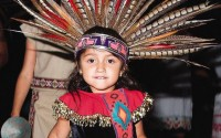 AOP PHOTO from a previous Baja Splash festival: Danza Azteca Cultural Ketzaliztli